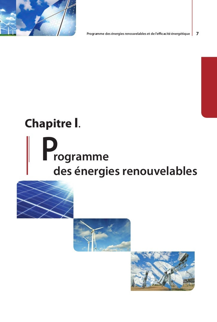 8    L'Algérie s'engage avec détermination           Malgré un potentiel assez faible, le    sur la voie des énergies reno...