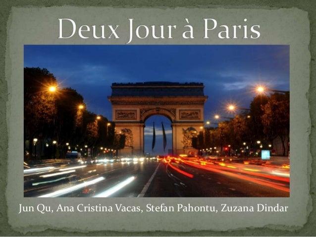 Jun Qu, Ana Cristina Vacas, Stefan Pahontu, Zuzana Dindar