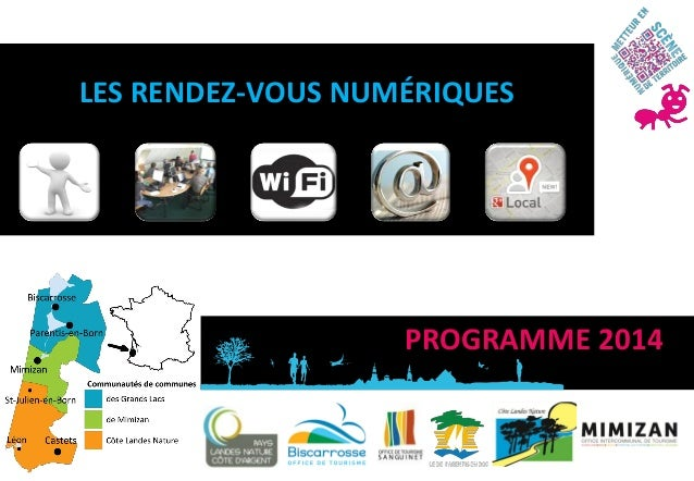 LES RENDEZ-VOUS NUMÉRIQUES  PROGRAMME 2014