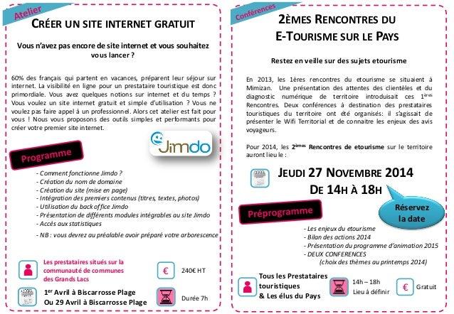 CRÉER UN SITE INTERNET GRATUIT Vous n'avez pas encore de site internet et vous souhaitez vous lancer ? 60% des français qu...