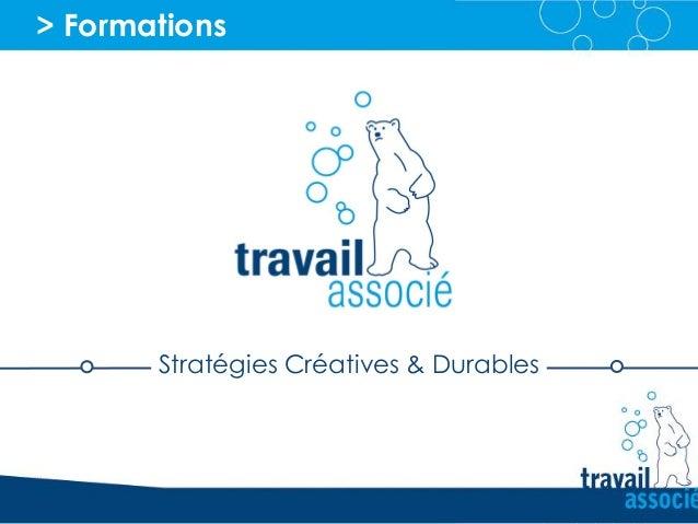 > Formations Stratégies Créatives & Durables