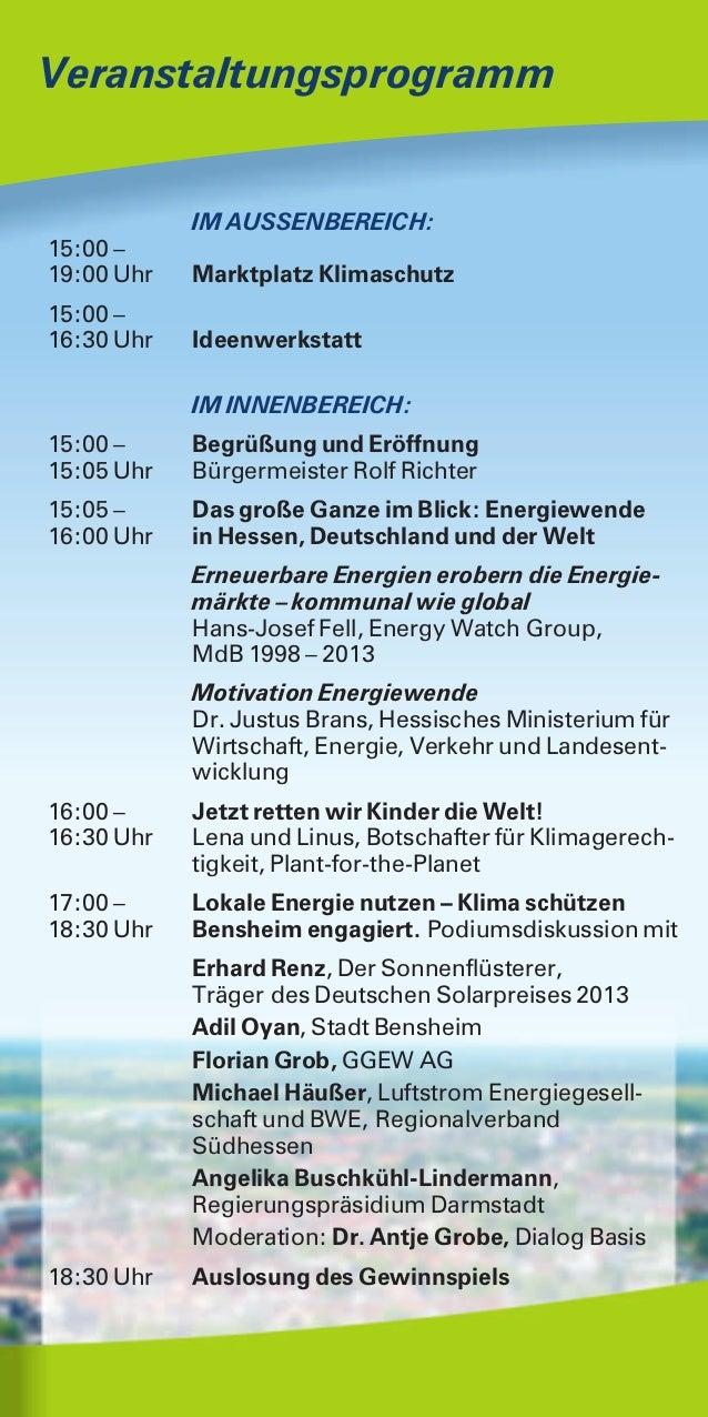 1. Bensheimer Energie  und Klimaschutztag Slide 2