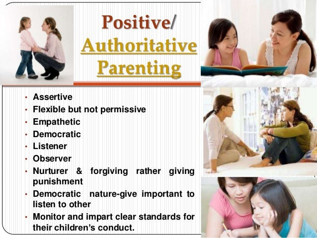 Parents are not too permissive with