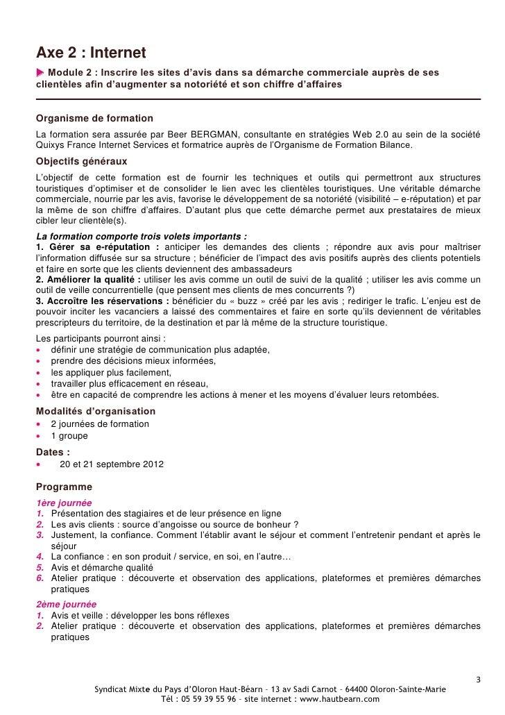Programme PLFI 2012 Slide 3