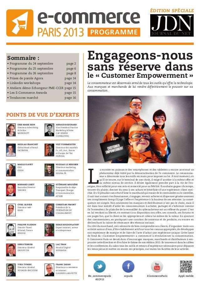 Sommaire : • Programme du 24 septembre page 2 • Programme du 25 septembre page 6 • Programme du 26 septembre page 8 • Pris...