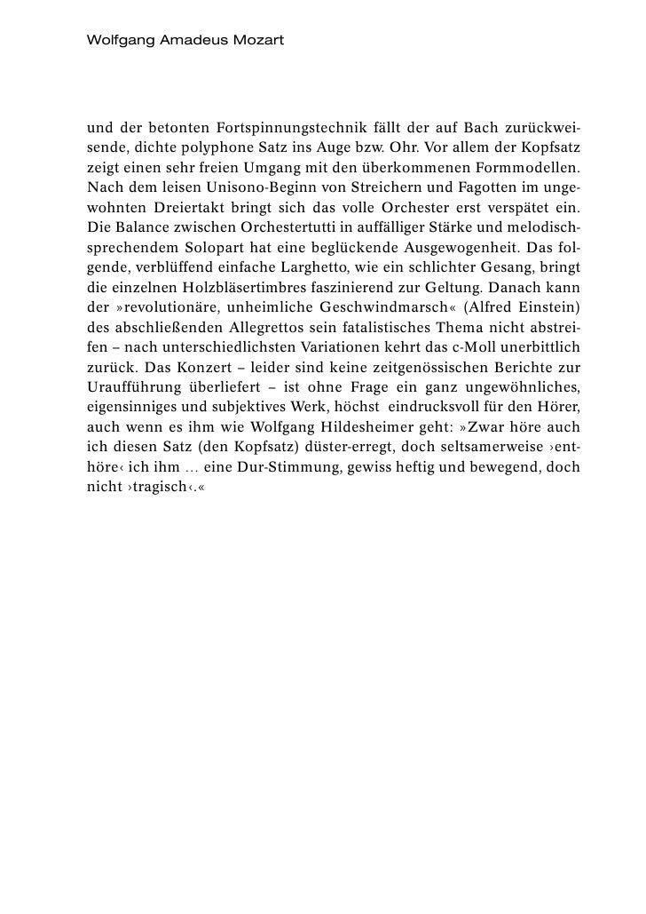 Wolfgang Amadeus Mozartund der betonten Fortspinnungstechnik fällt der auf Bach zurückwei-sende, dichte polyphone Satz ins...