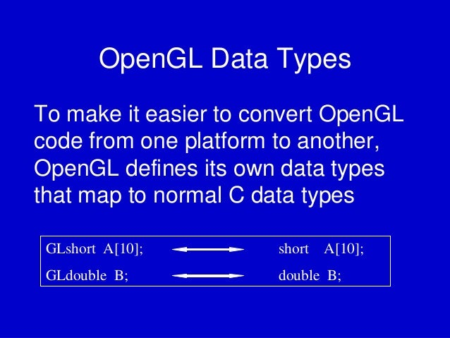 introduction to opengl 1 introduction to opengl what is opengl it is a window system independent, operating system independent graphics rendering api which is capable of rendering high-quality color images composed of geometric and.