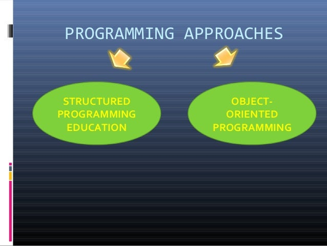 Difference Between Procedure Oriented And Object Oriented Programming