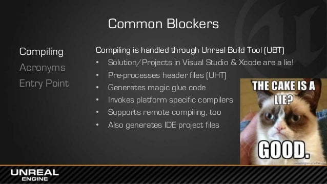 East Coast DevCon 2014: Programming in UE4 - A Quick Orientation for …