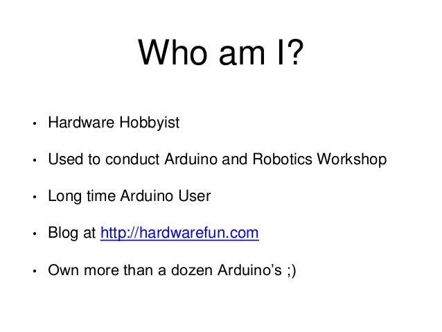 Programming arduino using makefile Slide 2