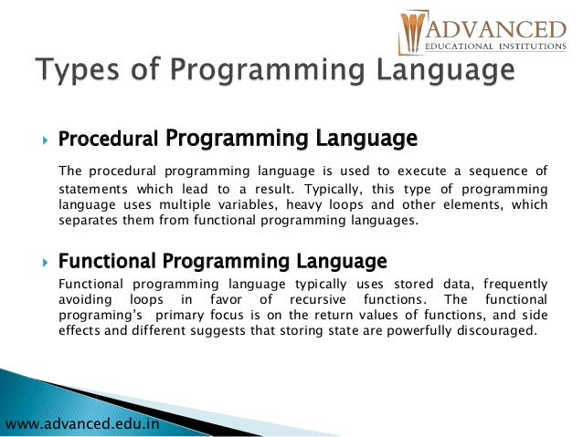 procedural programming Procedural programming definition - procedural programming is a programming paradigm that uses a linear or top-down approach it relies on procedures.