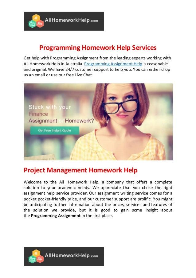 Homework help free