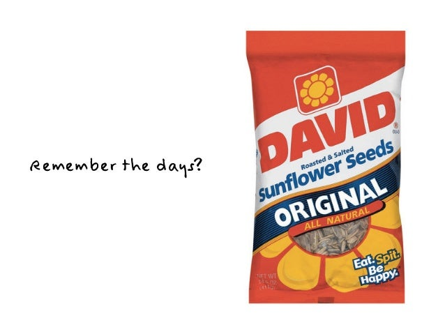 Remember the days?