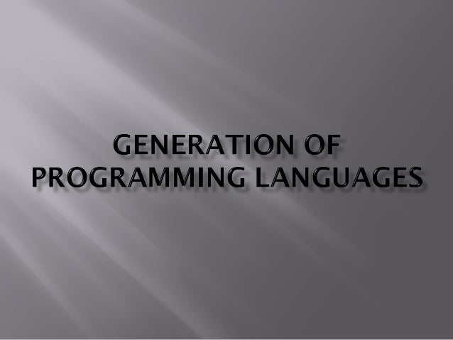 1.  2.  Identify the generations of low-level programming languages with examples. Identify the generations of high-level ...