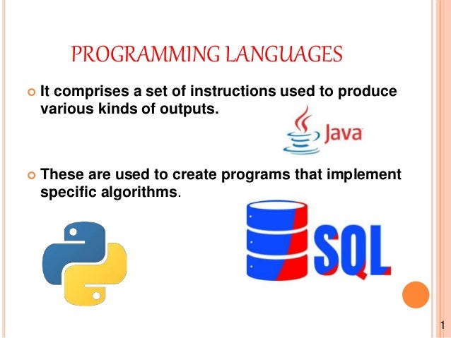 Programming languages java, python, sql and compare between c and py…