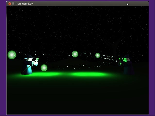 Programming physics games with Python and OpenGL
