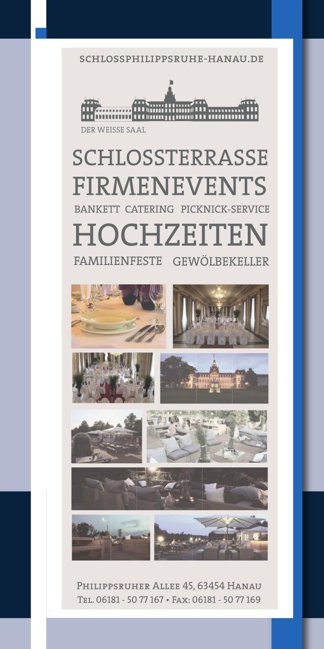 Programm Philippsruher Schlosskonzerte 2016