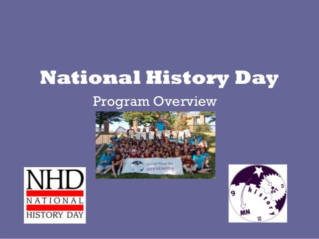 National History Day Program Overview