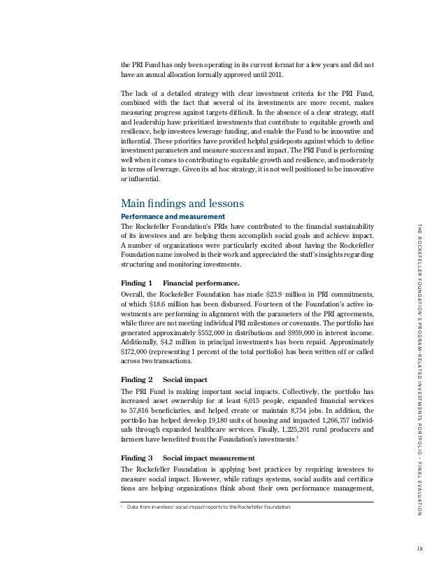 program related investments examples