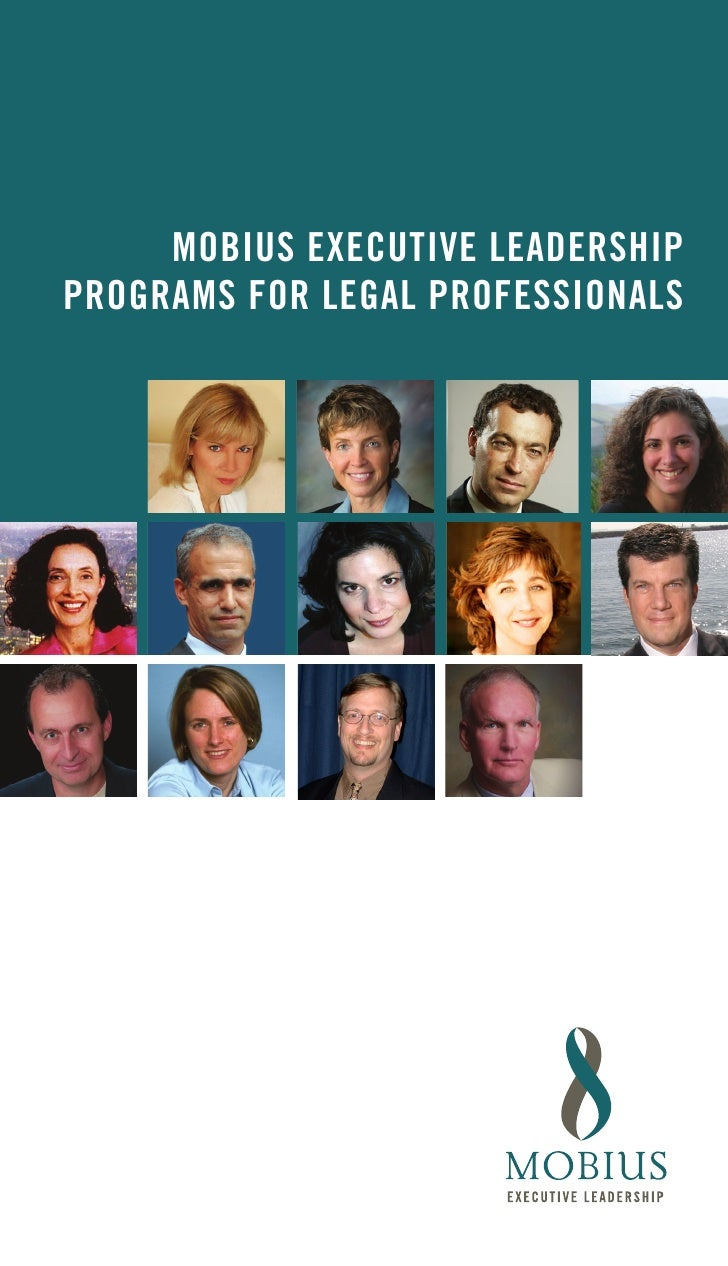 MOBIUS EXECUTIVE LEADERSHIP PROGRAMS FOR LEGAL PROFESSIONALS