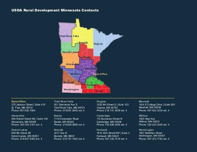 USDA Rural Development Program Summary 2016