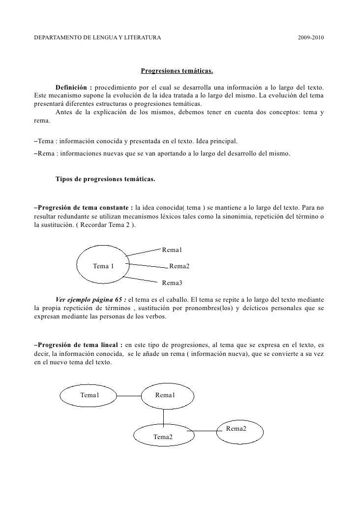 DEPARTAMENTO DE LENGUA Y LITERATURA                                                        2009-2010                      ...
