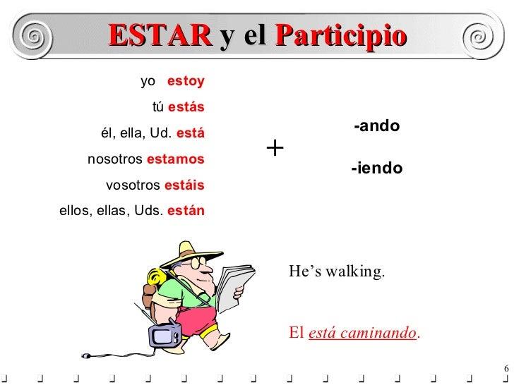 Resultado de imagen de presente continuo español