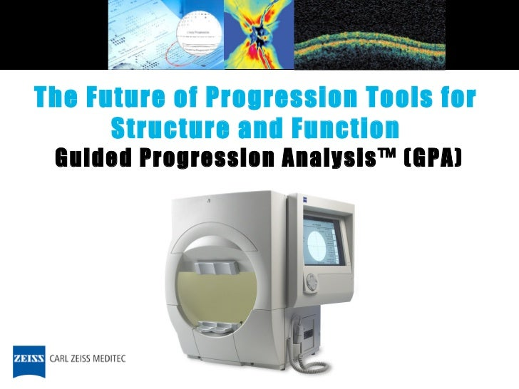 Guided Progression Analysis™ (GPA) The Future of Progression Tools for  Structure and Function