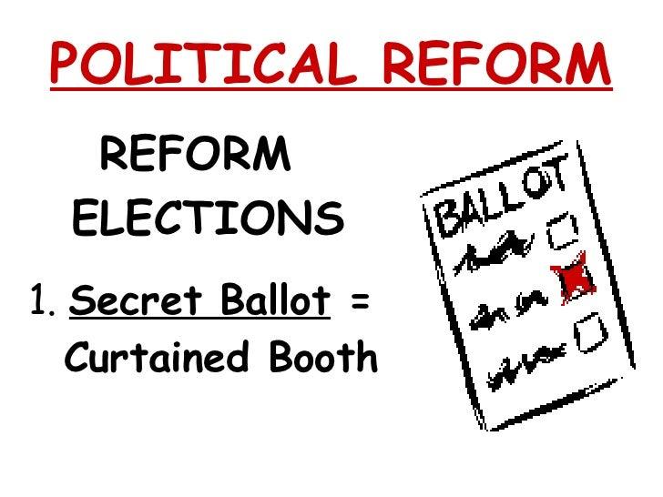 Reform movement