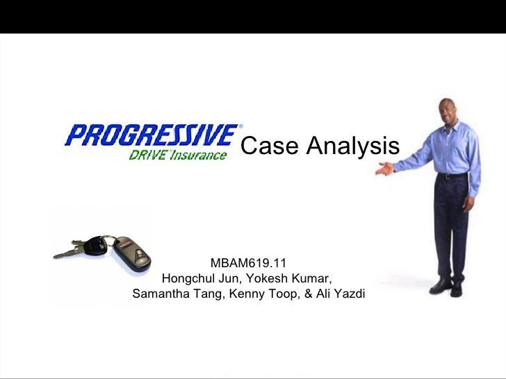 Case Analysis MBAM619.11 Hongchul Jun, Yokesh Kumar,  Samantha Tang, Kenny Toop, & Ali Yazdi