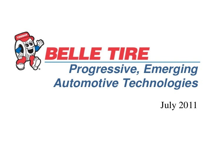 Progressive, Emerging Automotive Technologies<br />July 2011<br />