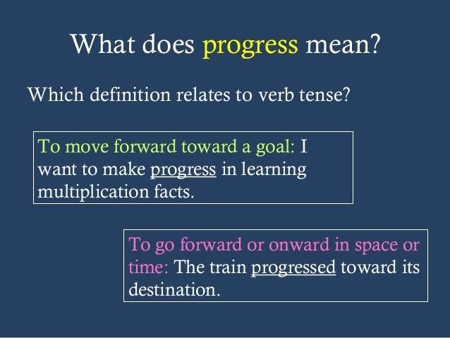 Progressive Tenses