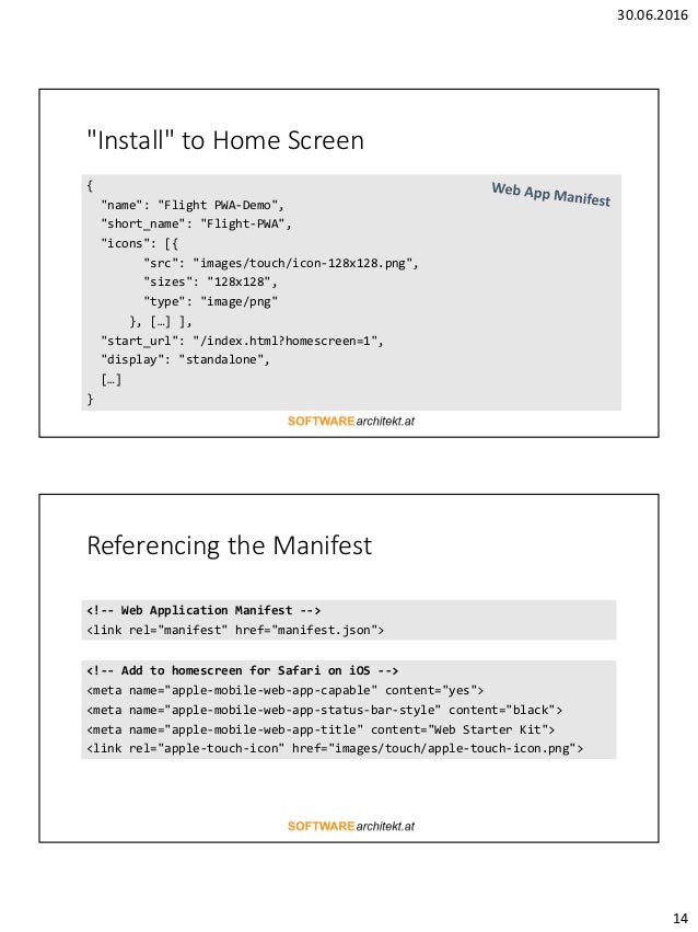 Progressive web apps with Angular 2