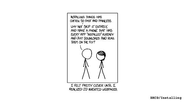 XKCD/Installing