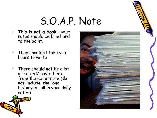 soap note nursing