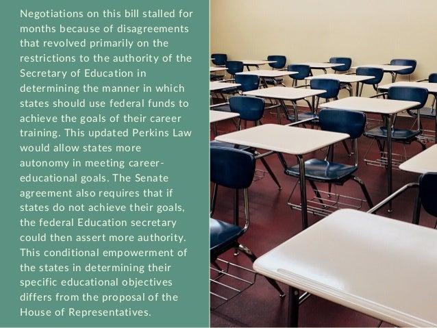 Progress on the New Career-Education Law | Michael G. Sheppard  Slide 3
