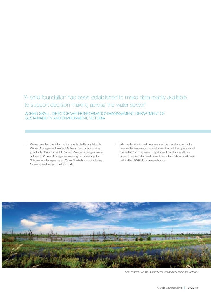 Environment agency sustainable business report 2011 dodge