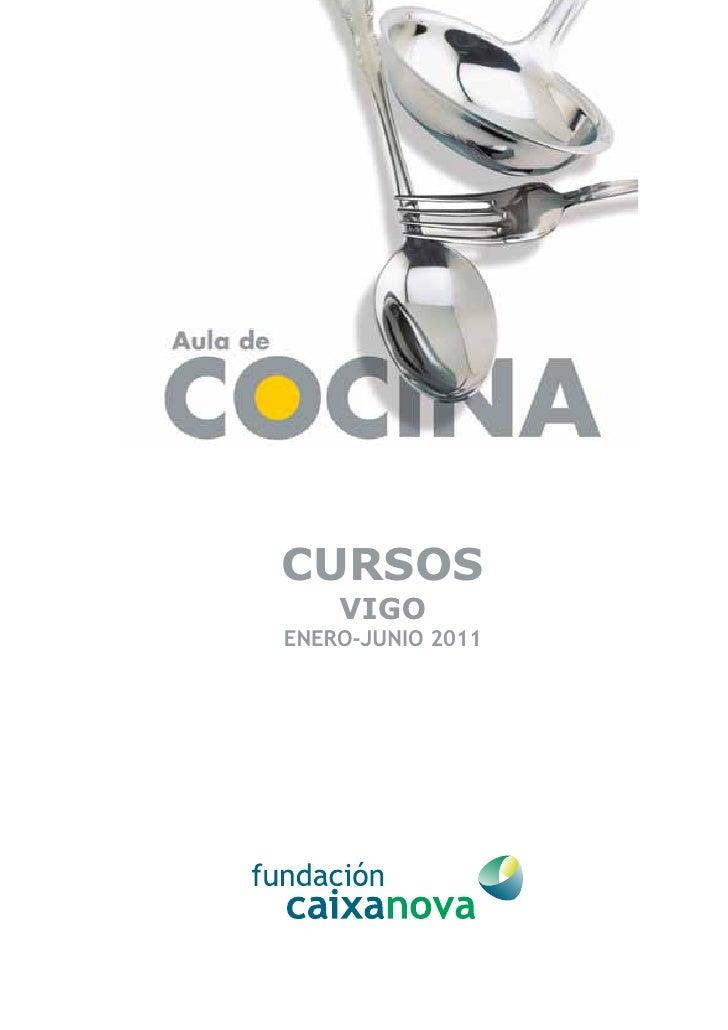 cursos de cocina novacaixagalicia vigo enero junio 2011