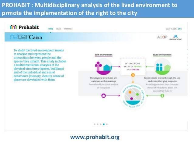 PROHABIT_OIKONET_Lisbon_Seminar Slide 2