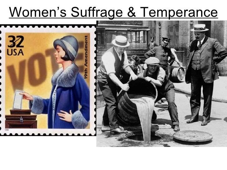 Women's Suffrage & Temperance