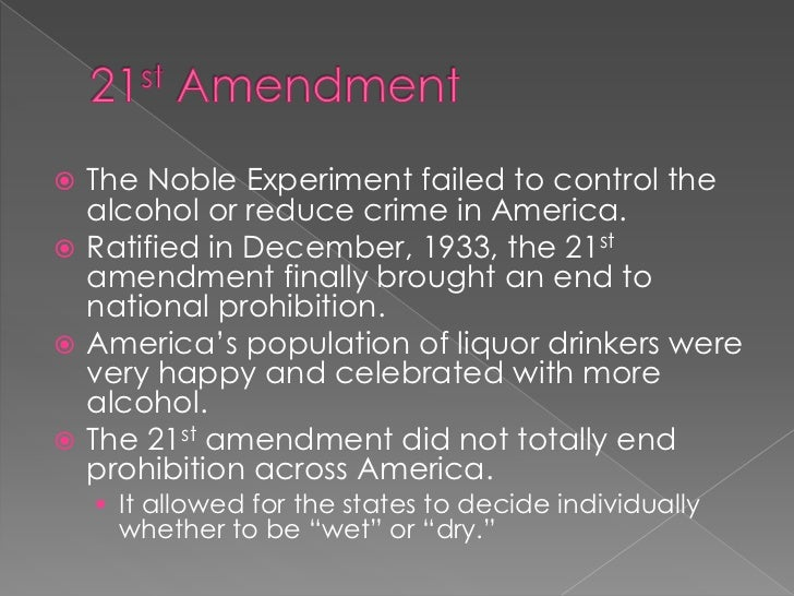 why prohibition failed to control american 1 prohibition had been tried before in the early 19th century, religious revivalists and early teetotaler groups like the american temperance society campaigned relentlessly against what they .