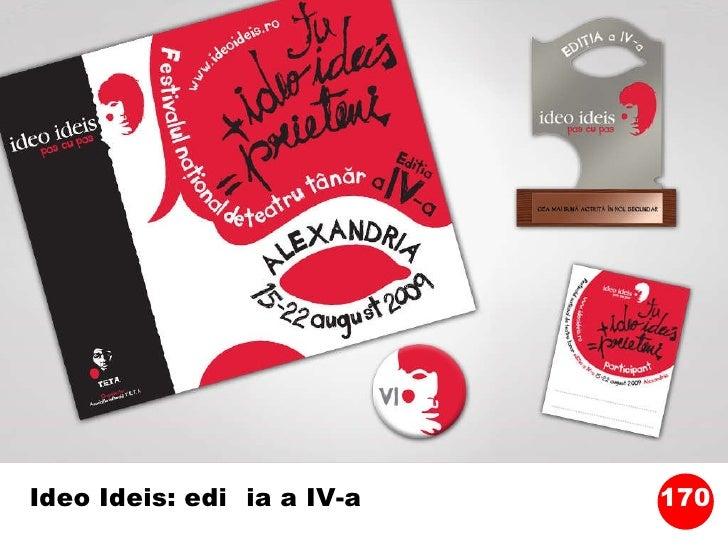 Ideo Ideis: ediția a IV-a 170