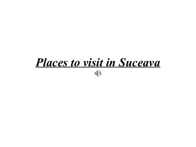 Places to visit in Suceava