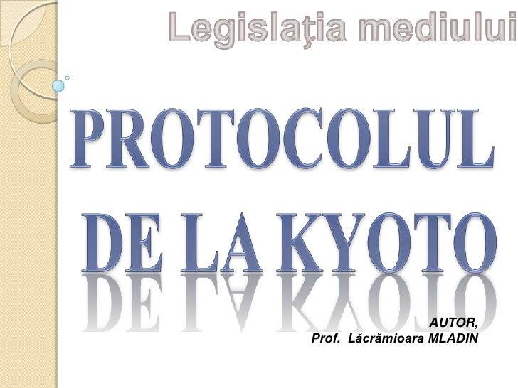 AUTOR,Prof. Lăcrămioara MLADIN