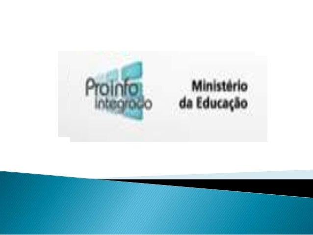  a. instalação de ambientes tecnológicos nas escolas;  b. formação continuada dos professores e outros agentes educacion...