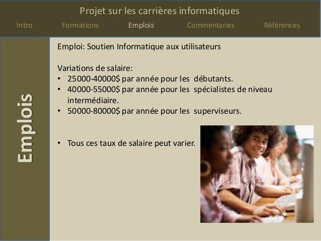 Projet carrieres Slide 3