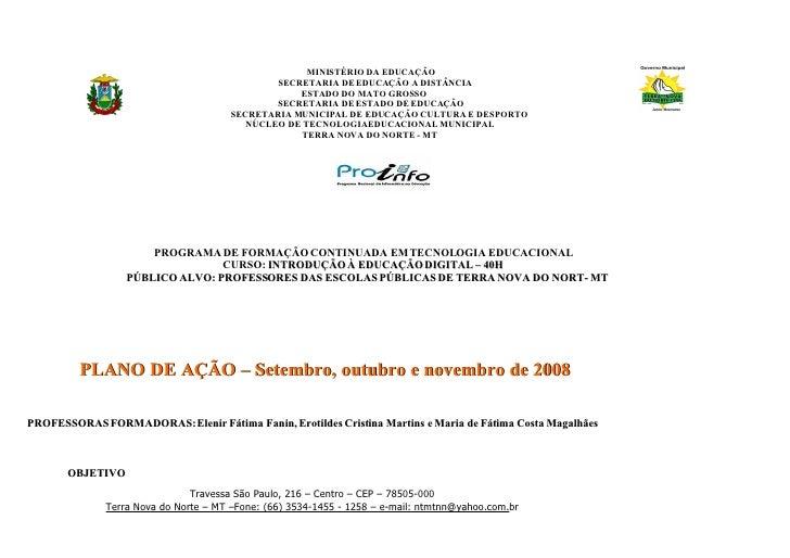 MINISTÉRIO DA EDUCAÇÃO                                                SECRETARIA DE EDUCAÇÃO A DISTÂNCIA                  ...