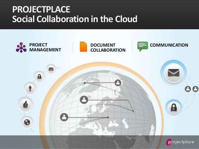 PROJECTPLACESocial Collaboration in the Cloud    PROJECT         DOCUMENT        COMMUNICATION    MANAGEMENT      COLLABOR...