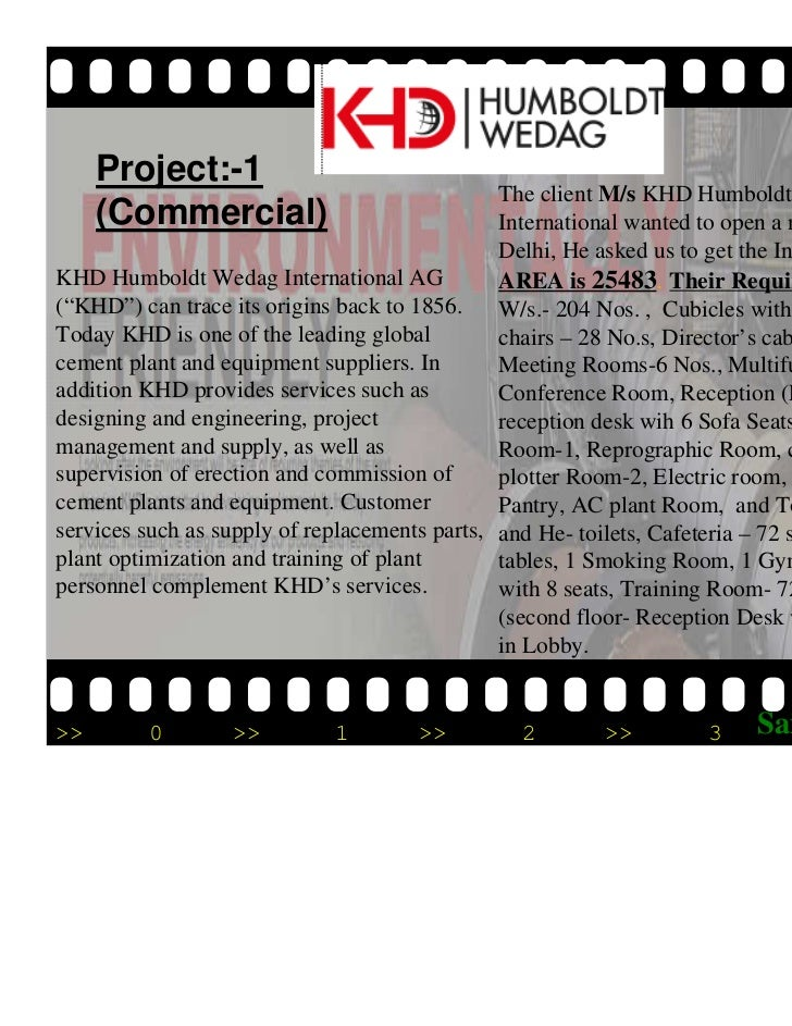 Project:-1                                               The client M/s KHD Humboldt Wedag     (Commercial)               ...