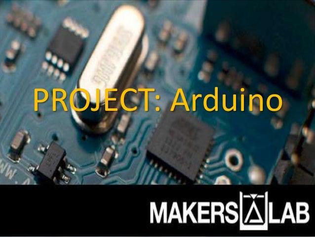 PROJECT: Arduino